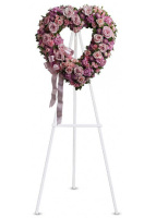 Teleflora�s Rose Garden Open Heart Wreath