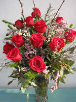 Deluxe Rose Arrangement