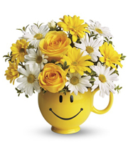 Teleflora`s Be Happy Bouquet