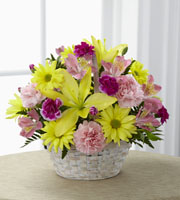 The FTD� Basket of Cheer� Bouquet