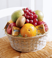 The FTD� Fruit and Chocolate Basket