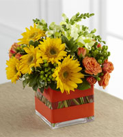 The FTD� Perfect Sun� Bouquet