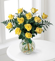 The FTD� Brighten the Day � Rose Bouquet