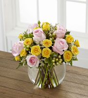 The FTD� Soft Serenade� Rose Bouquet