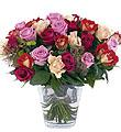 Bouquet of Mixed Roses