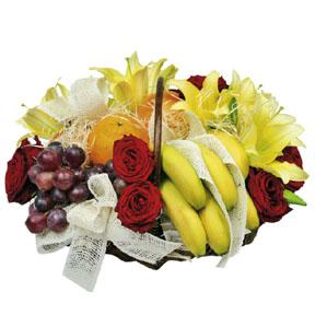 Flower Delivery Canada on Flower Arrangement With Fruits Cincinnati Florist   Flowers Cincinnati