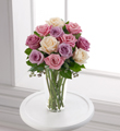 The FTD Pastel Rose Bouquet