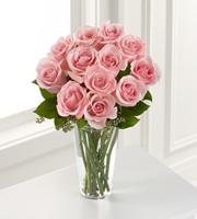 The FTD� Pink Rose Bouquet