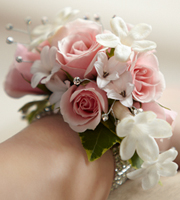 The FTD� Pure Grace� Wrist Corsage