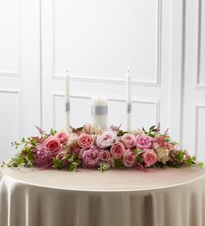 The FTD� Worldwide Romance� Unity Candle Arrangement