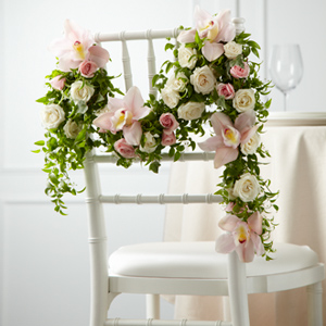 The FTD� Orchid Rose� Chair D�cor