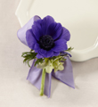 The FTD� Purple Passion� Boutonniere