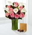 Fabled Beauty Bouquet with Godiva� Chocolate and Vase
