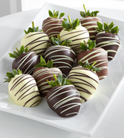 Golden Edibles� Classic Belgian Chocolate Covered Strawberries - Single Dipped