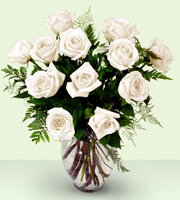 The FTD� Enchanting� Rose Bouquet - White