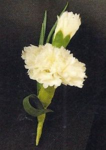 Mini Carnation Boutonniere