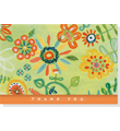 SUNSHINE GARDEN THANK YOU NOTE CARD SET