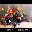 Uptown Blossoms Urn Pieces