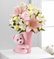 The FTD� Baby Girl Big Hug� Bouquet