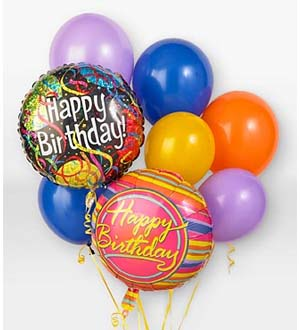 King Soopers Birthday Balloon Bouquet Denver CO 80223 FTD Florist