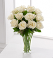 The FTD� White Rose Bouquet