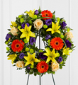 The FTD� Radiant Remembrance� Wreath