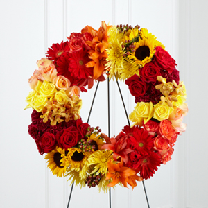 The FTD� Rural Beauty� Wreath