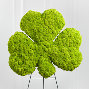 The FTD� Forever� Shamrock Easel