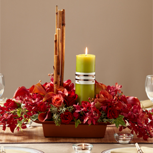 The FTD� Dramatic Garden� Centerpiece