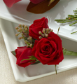 The FTD� Red Spray Rose Boutonniere