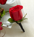 The FTD� Red Rose Boutonniere