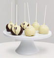Golden Edibles� Wedding Day Celebration Belgian Chocolate Dipped Cake Pops